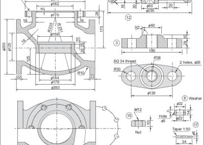 Steam-stop-valve