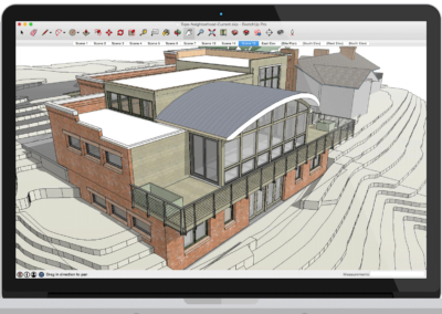 sketchup building