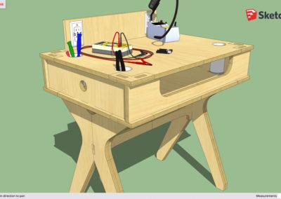 sketchup desk