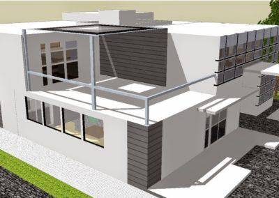 sketchup modern house design