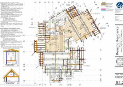 sketchup roof plan
