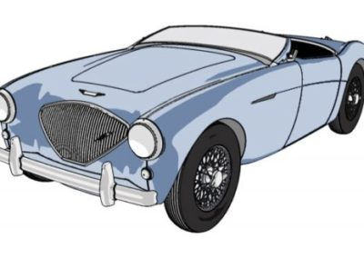 penguin-car-healey-john-loftus