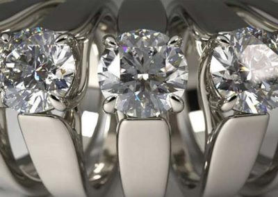 Diamond Ring by Travis Serio (VRay for Rhino)