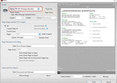 PDF XChange Print To PDF