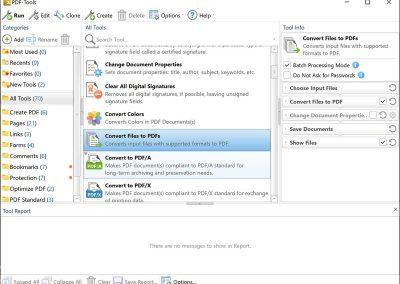 PDF XChange Pro PDF Tools